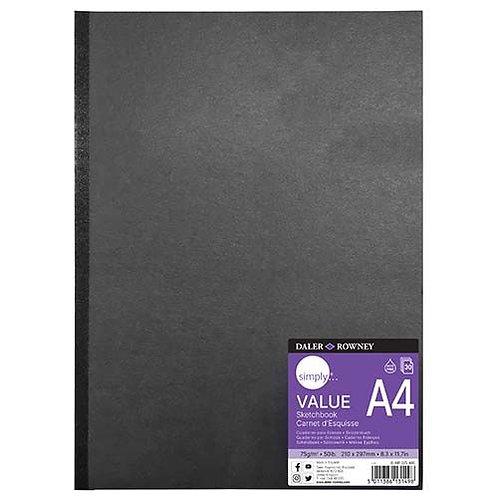 Daler Rowney A4 Sketchbook