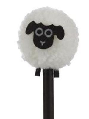 Sheep Pom Pom Pencil