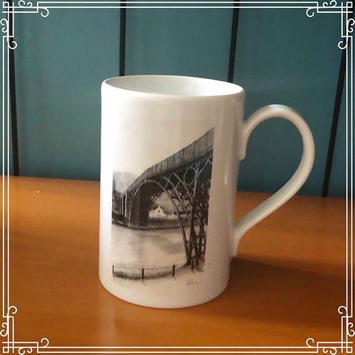 8oz Porcelain Mug - Ironbridge