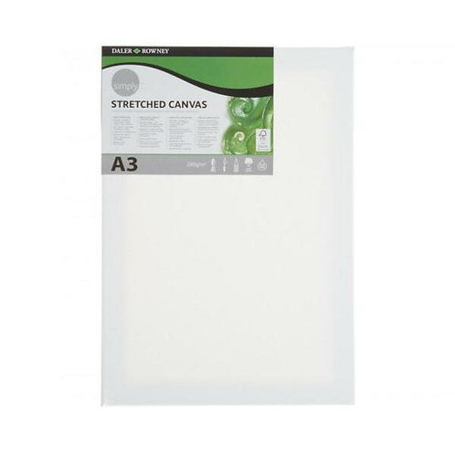 A4 Daler Rowney Simply Stretched Canvas