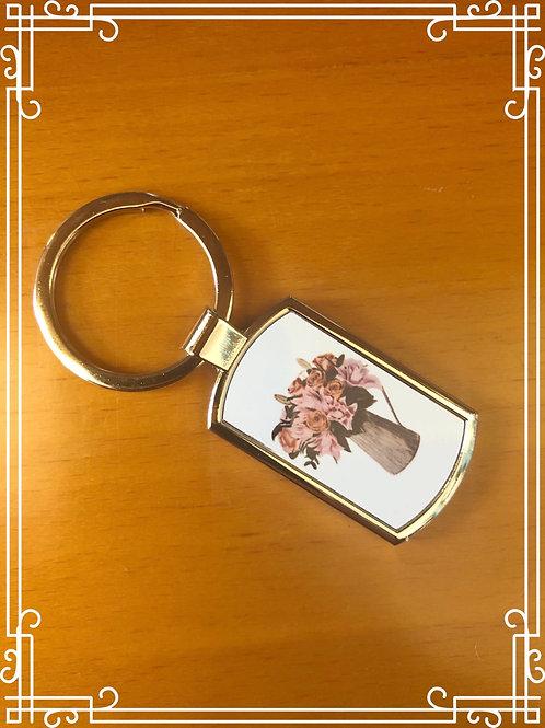 Jug of flowers - Key ring