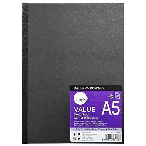 A5 Daler Rowney Sketchbook