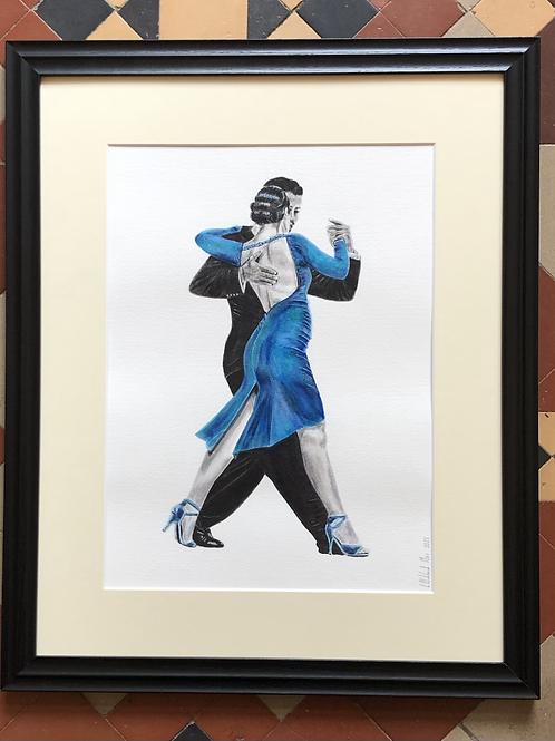 Two - Framed Original