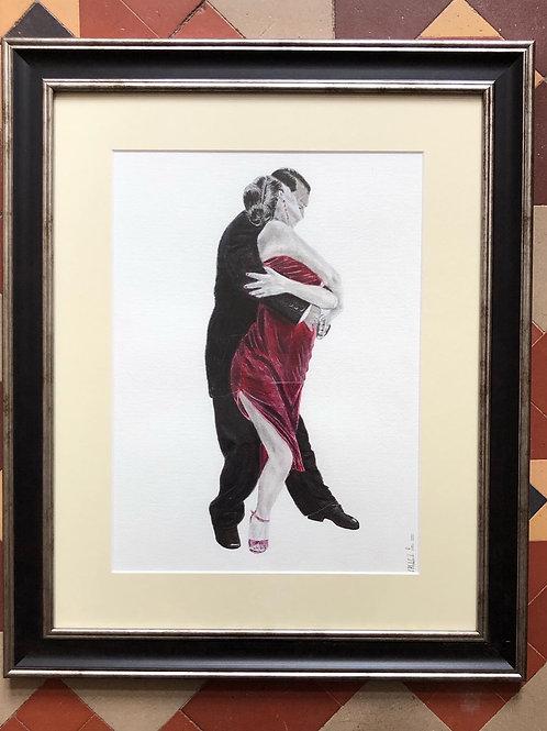 Embrace the Dance - Framed Original