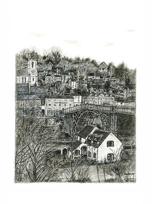 Ironbridge - Mounted Giclée Print