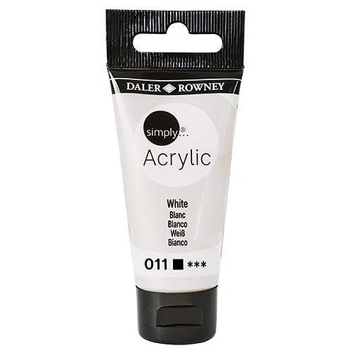 Daler-Rowney Acrylic White 30ml