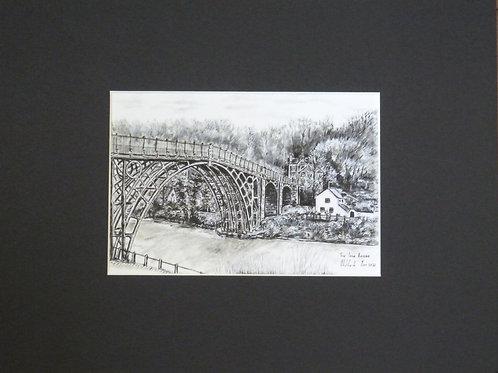 The Iron Bridge - Mounted Print