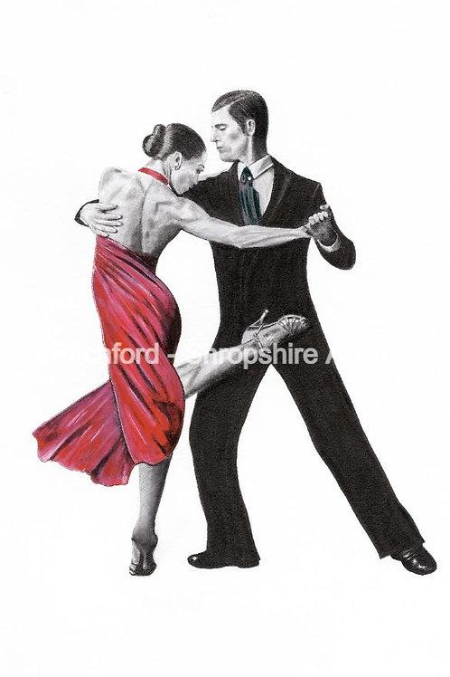 Tango - Giclée Print