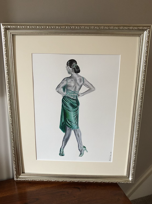 Solo - Framed Giclée Print