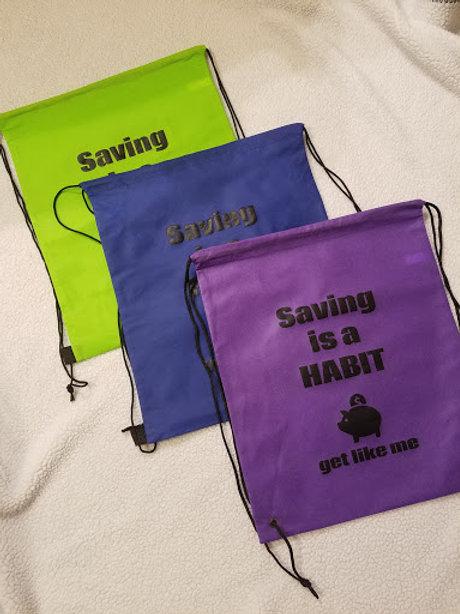 Saving is a Habit Bag