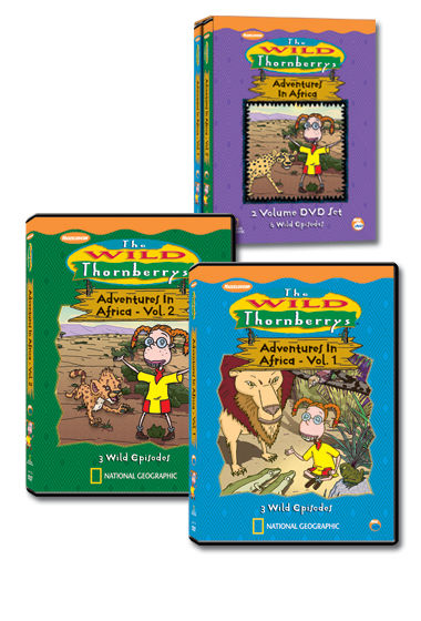 Wild Thornberry DVD Collection