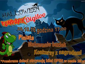 Halloween w Fun Parku Digiloo!
