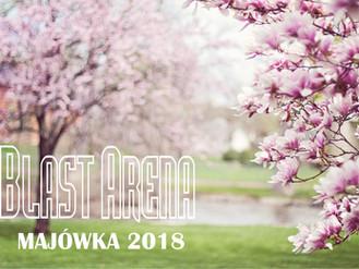 Blast Arena otwarta w majówkę!