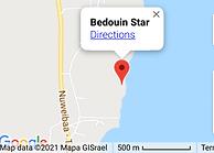 Bedouin Star in Google maps