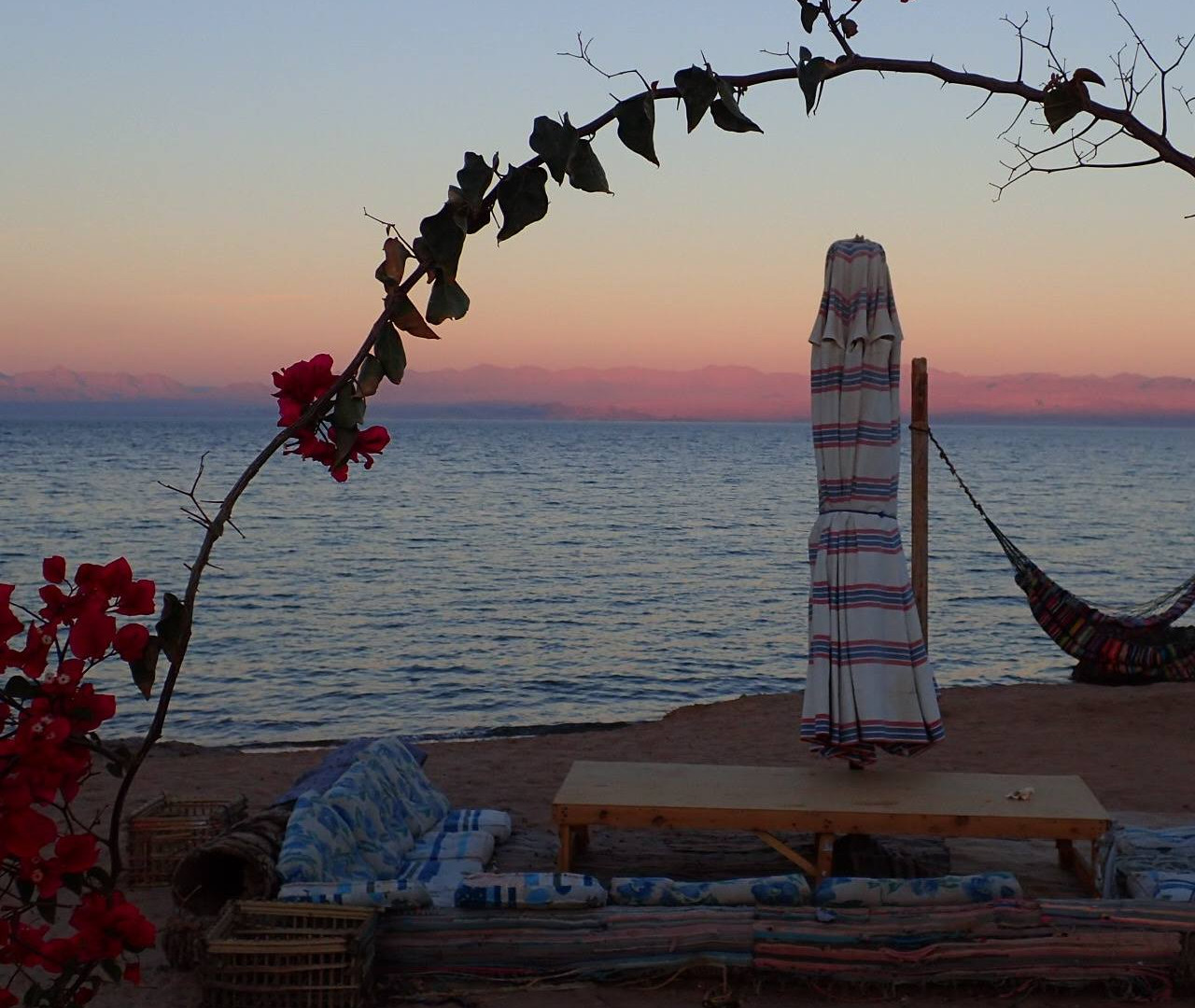 Sunset at Bedouin Star | Ras shetan