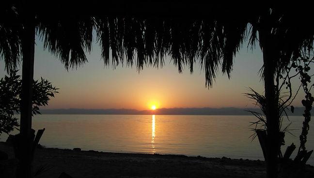 Sunrise at th beach
