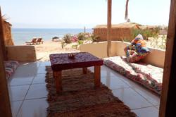 Deluxe bungalow terrace of ceramic