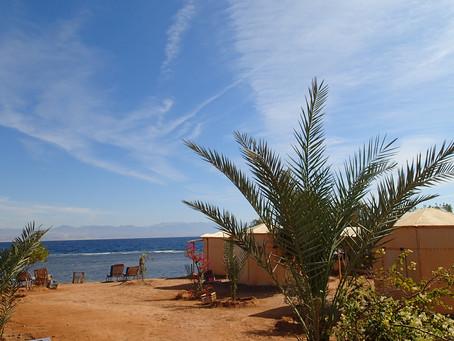 Beautiful January at the beach in Sinai Egypt