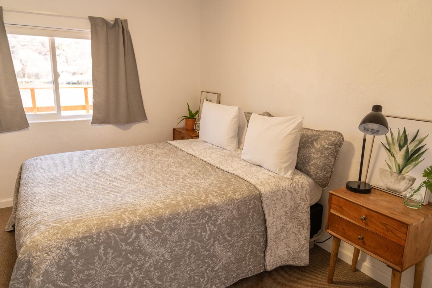 Riverside Condo Master Bedroom