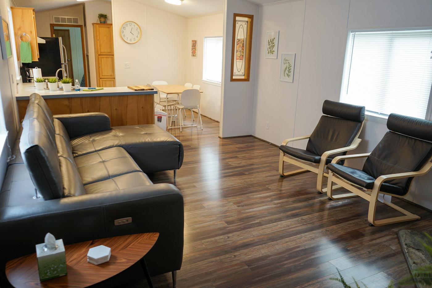 Park House Living Room & Kitchen