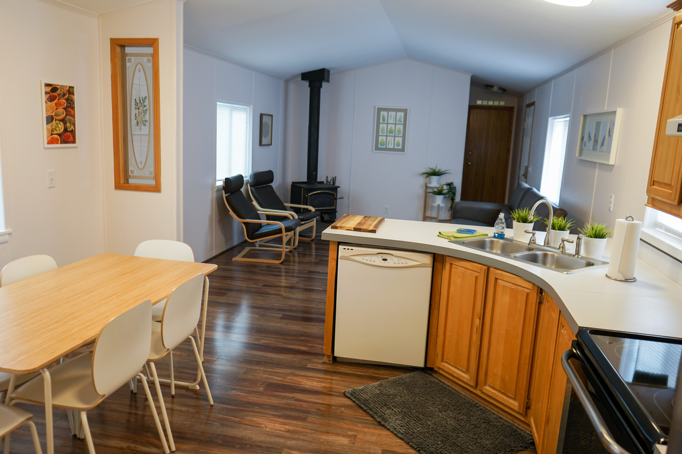 Park House Kitchen & Living Room