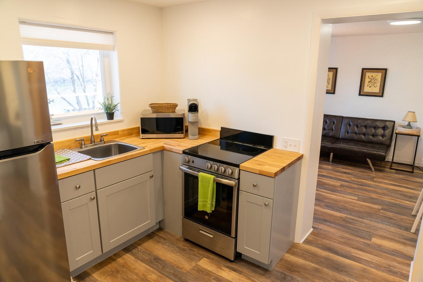 Riverside Condo Kitchen