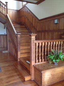 Elegant stairway to heaven