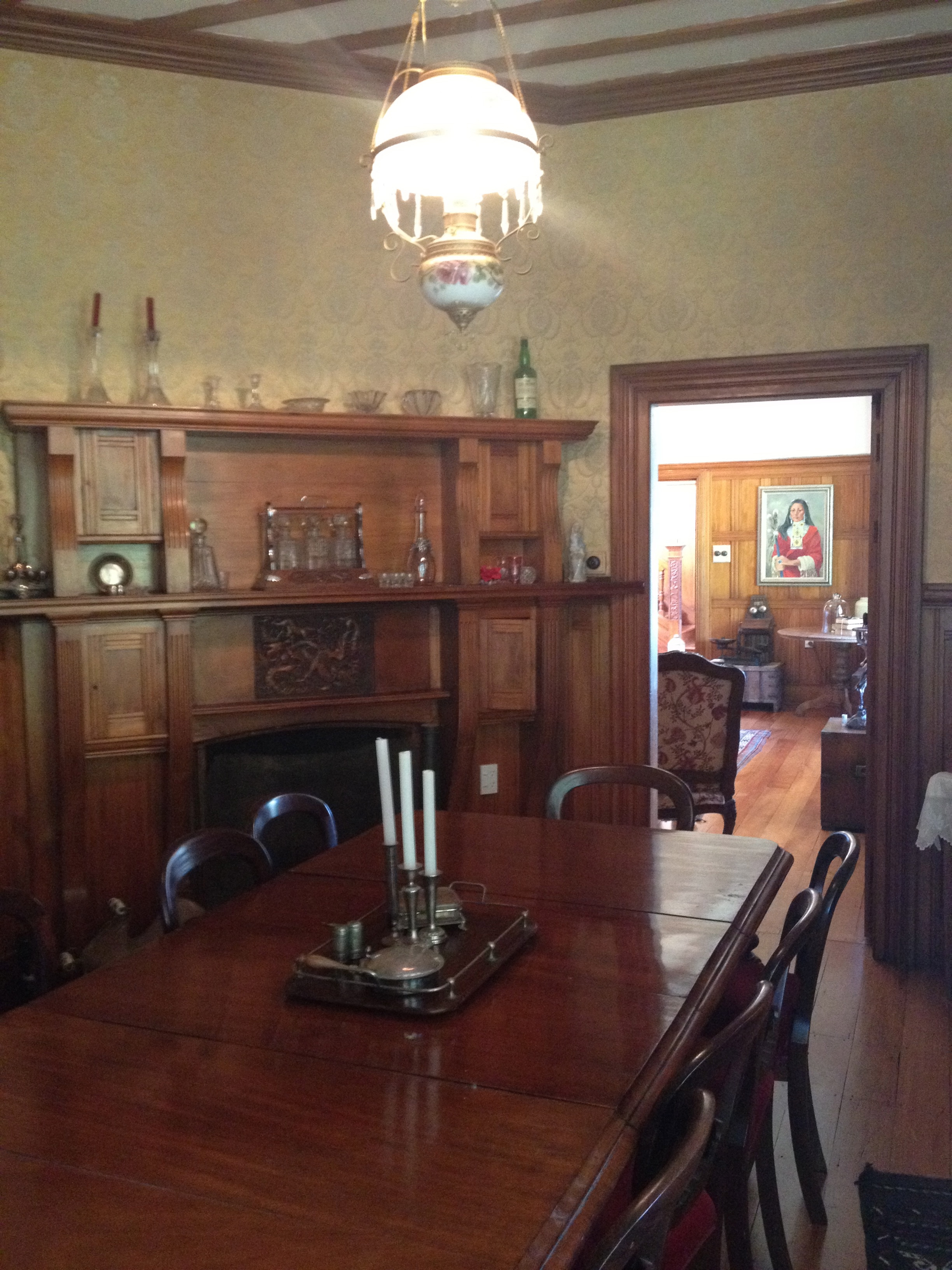 A victorian dining room awaits