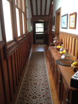 Hallway from the Billiard Room suite