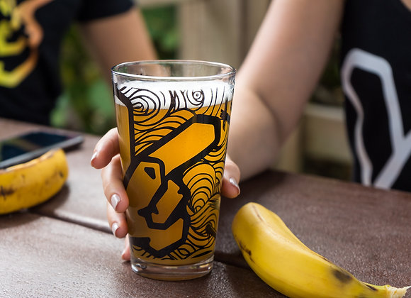Yeasty Brew's Logo Pint Glass