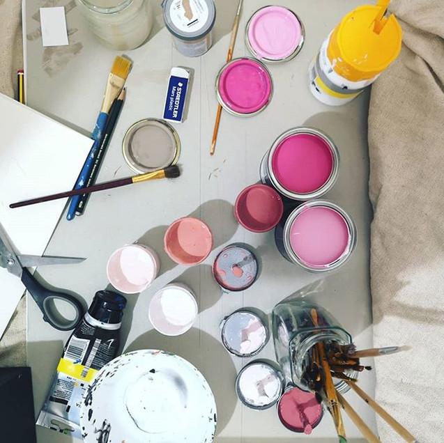 Cherry blossom colour palette #organised