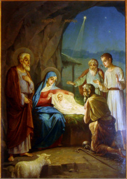 Рождество Христово (цинк)