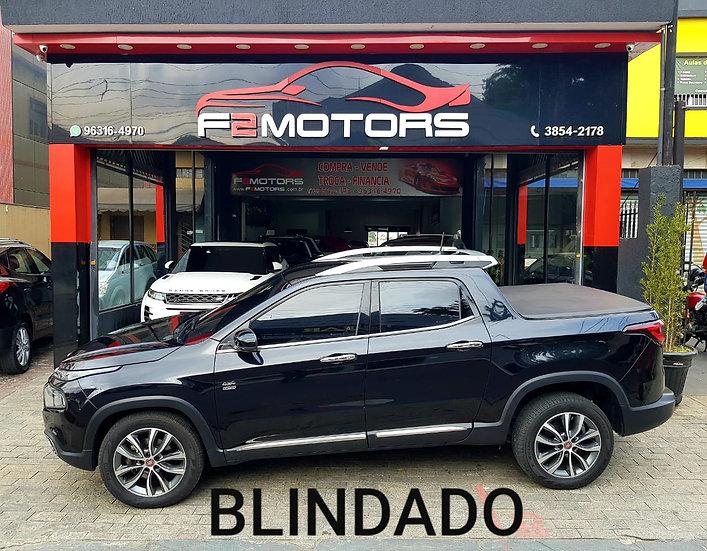 FIAT TORO 2.0 16V TURBO DIESEL VOLCANO 4WD AT9 2019/2019 BLINDADA