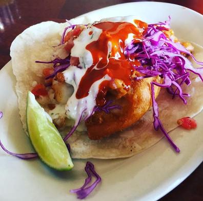 South Beach Battered Cod Taco