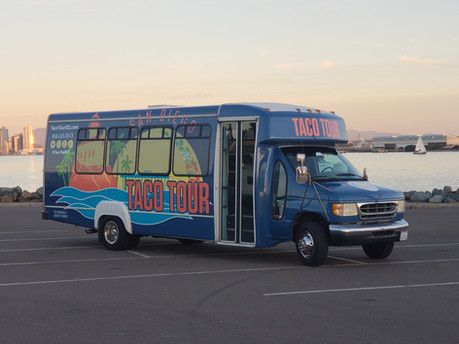 Taco Tour San Diego Bus