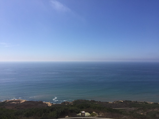 Pacific Ocean view from Cabrillo