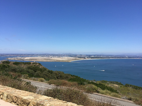 San Diego view from Cabrillo