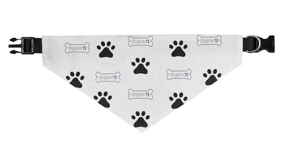 DogsterTX - Collar Bandana