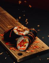 Rainbow Jumbo Sushi Rolls