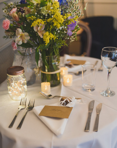 Vegan Wedding Table