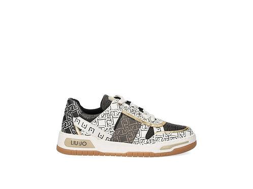 Sneakers à imprimé monogramme LIUJO   BA1043EX057S1005