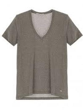 Tee-shirt kaki T0AYCN2N3N