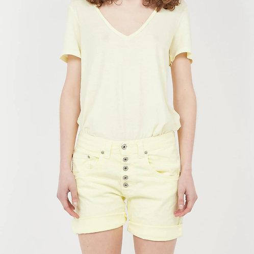Tee-shirt jaune T0AYCN2N3N