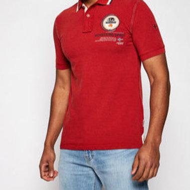 Polo napapijri Np0a4f6d1761 rouge