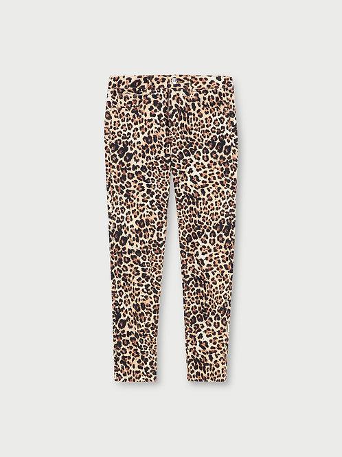 Pantalon cropped avec imprimé LIUJO  WA1096T8122T9680