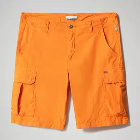 Bermuda napipijri avec poche Np0a4f9ua581 Orange