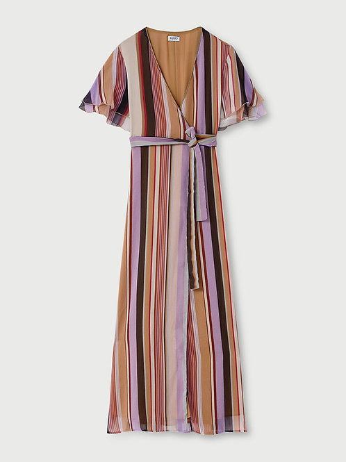 Robe longue avec nœud LIUJO   WA1517T4837T9687