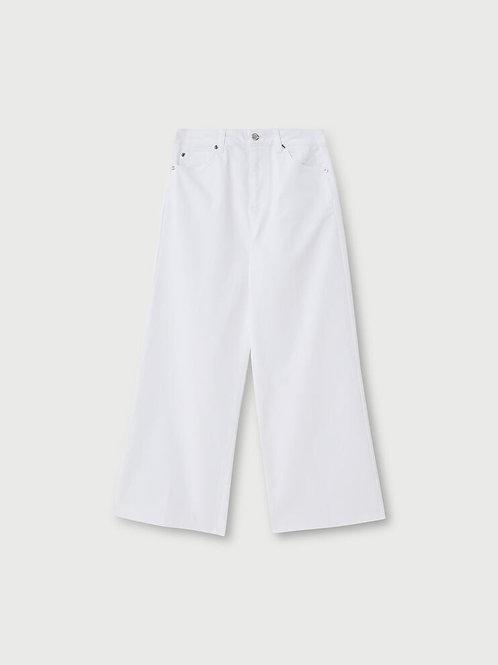 Pantalon évasé à taille haute LIUJO   WA1114T714411111