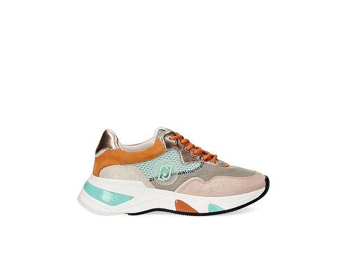 Sneakers en daim brillant LIU JO BA1037TX085S1636