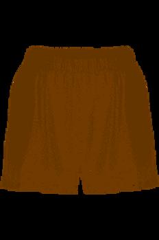 Short ample à taille élastiquée D251BTM Blanc